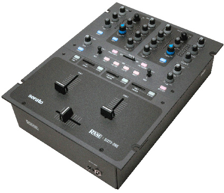 Rane SIXTY-ONE Performance Mixer with Serato Scratch Live