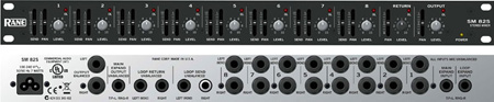 Rane SM 82S Stereo Line Level Mixer - 1RU