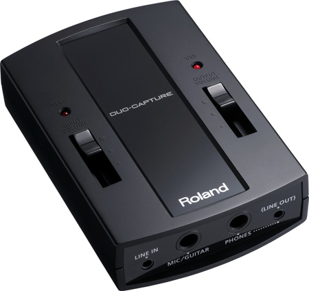 Roland UA-11 DUO-CAPTURE Mac & PC I/O USB Audio Interface