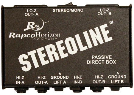Rapco STL-1 Stereo Direct Box