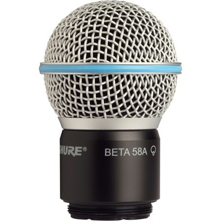 Shure RPW118 Wireless Beta 58A Cartridge - Assembly & Grille