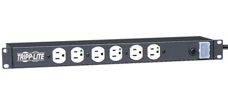 Tripp Lite RS1215-HG Power Strip w/Hospital Grade Plug & Receptacles