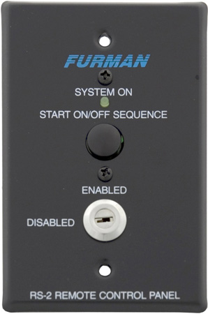 Furman RS-2 Remote System Control Panel