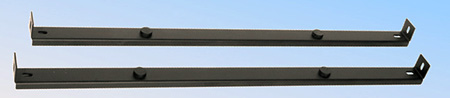 Mid-Atlantic -C Clamp Bars (2pcs) for Vented Universal Rackshelves