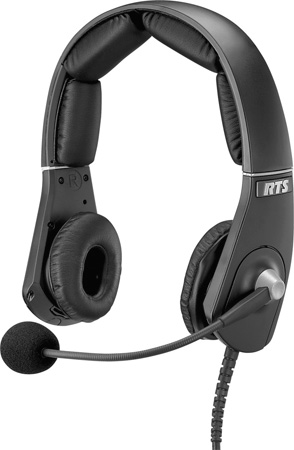 RTS MH-302 Dual-Sided Premium Lightweight Headset A4M Connector