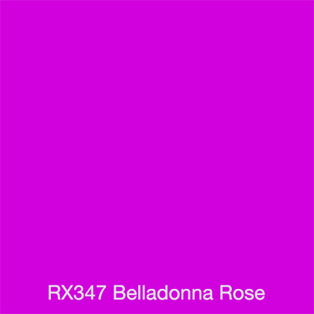 Rosco Gel Sheet - Belladonna Rose