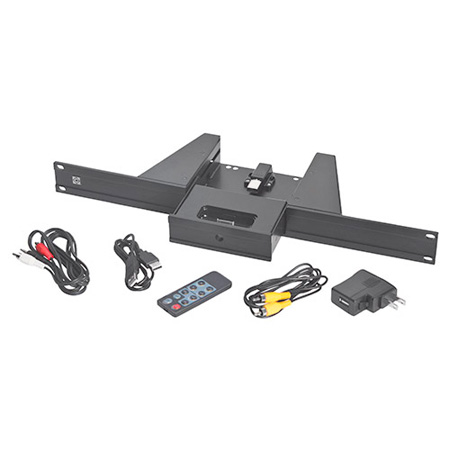Raxxess NAID1B Rack Mount iPod Dock - 1U