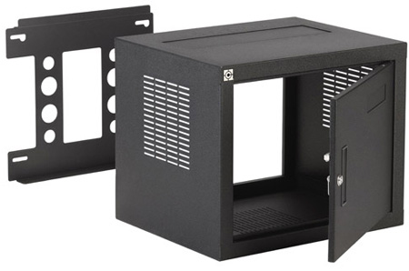 Chief NW2F818 W2 Fixed Wall Rack - 8U 18 Inch Deep