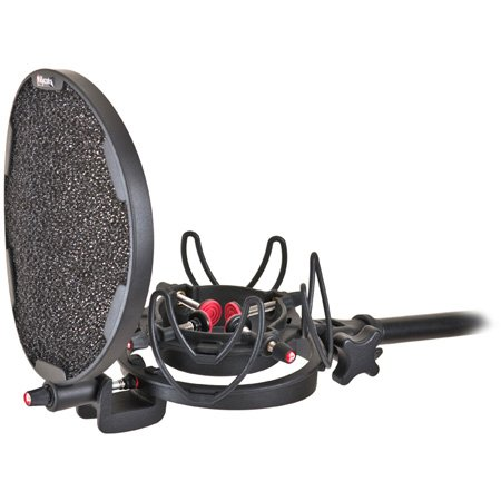 Rycote 045003 InVision Studio Kit-L w/USM-L Studio Mount & Pop Filter