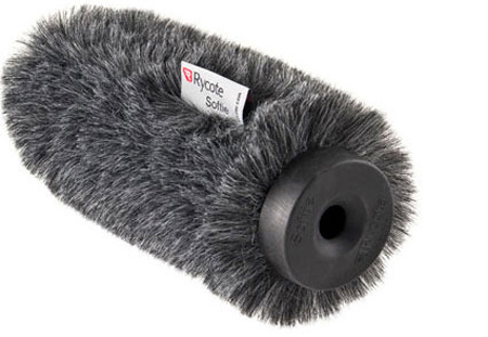 Rycote 34332 12cm Short Hair Standard Hole Softie