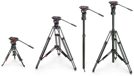 Sachtler 0480 SooM 4-In-One Tripod System with FSB 6 Fluid Head