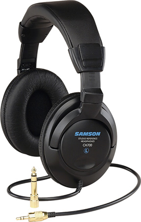 Samson CH700 Closed Back Design Studio Headphones