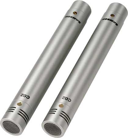 Samson C02 - Pencil Condenser Microphones (pair)