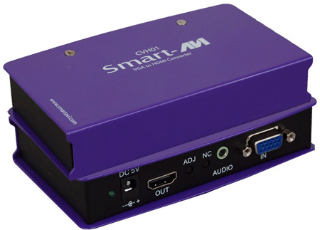 SmartAVI CVH-01 Component Video / VGA with Audio to HDMI Converter