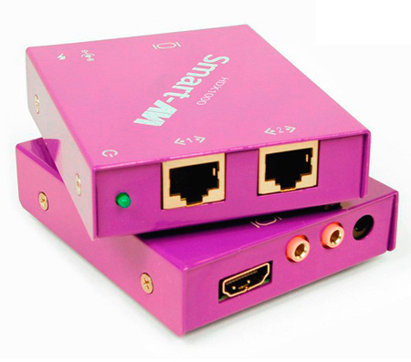 Smart-AVI HDX-PlusS HDMI IR RS232 Point to Point Cat5 Extender