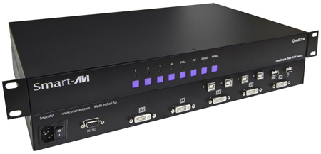 Smart-AVI SM-QKVM-S QuadKVM Switch