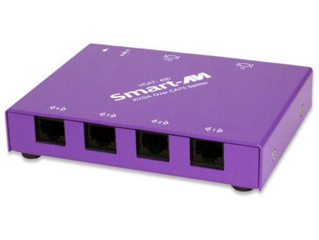 Smart AVI VCT-400S UXGA point-to-multi-point CAT5 Extender 4-Port Transmitter