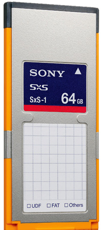 Sony SBS-64G1A SxS-1 Memory Card (64 GB)