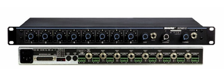 Shure SCM810 Eight Channel Microphone Mixer / AutoMixer
