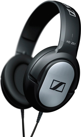 Sennheiser HD201 Semi-Circumaural Closed Headphone