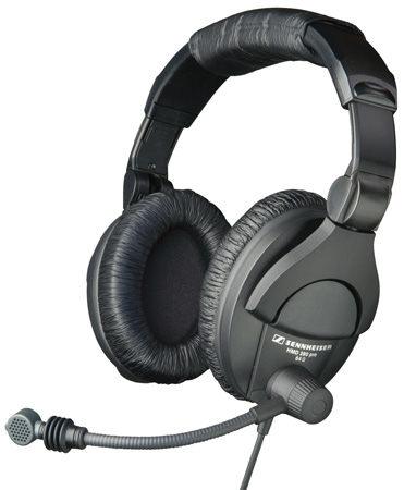 Sennheiser HMD 280-XQ-2 Boomset with 9.9 Ft. Straight Cable