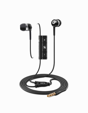 Sennheiser MM 70i Ear-canal Sound-isolating Headphones with Microphone and Smart Remote for Apple Products