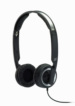 Sennheiser PX 200-II Collapsible High-performance Noise-isolating Headphone with Single-sided Cable