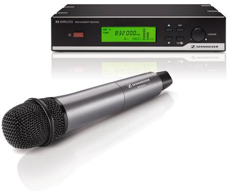Sennheiser XSW 35 Cardioid E35 Handheld Vocal Wireless Mic System CH-B