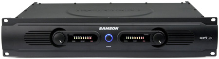Samson Servo 300 150W Per Channel @ 4ohm Power Amp