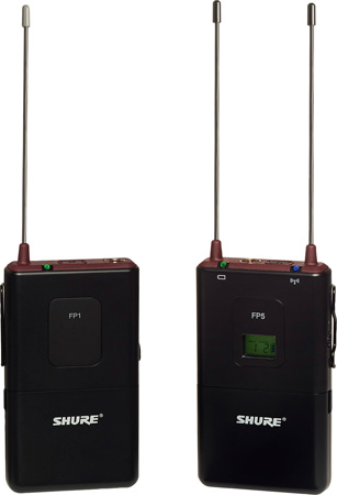 Shure FP15 Bodypack Wireless Mic System - 518-542MHz - (Mic Not Included)