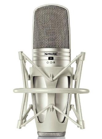 Shure KSM44A/SL Multi-Pattern Large Dual-Diaphragm Side-Address Condenser Microphone w/ ShureLock