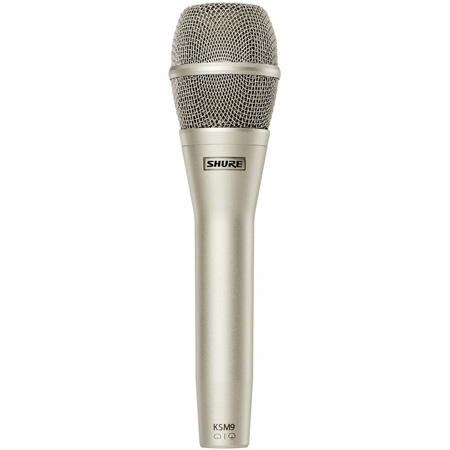 Shure KSM9 Vocal Microphone (Charcoal Grey)