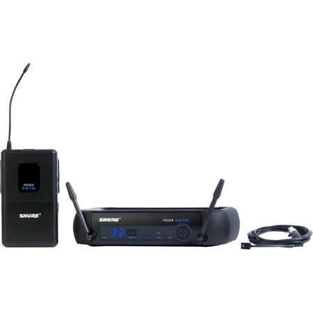 Shure PGXD14/93-X8 Digital Wireless System with WL93 Lavalier Microphone