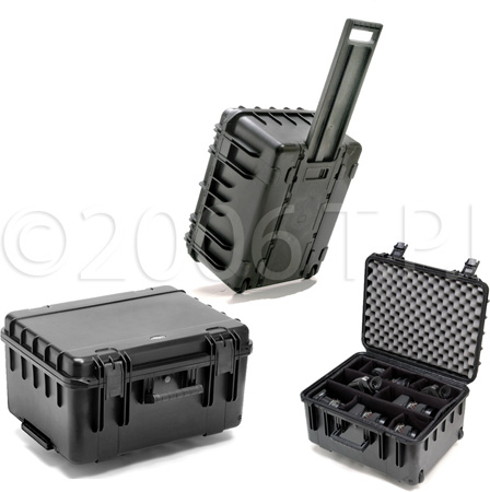 SKB 3I-2015-10B-D Standard Watertight Utility Case wWheels & Dividers