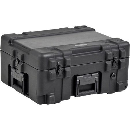 SKB 3R2217-10B-DW Roto-molded Mil-Standard Utility Case with Wheels and Dividers