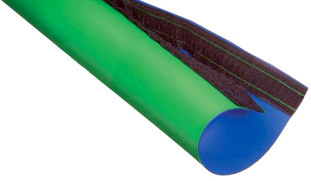Techflex Studio Key Sleeve Reversible Chroma Key Green/Blue Keyable Sleeve 10ft