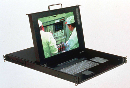 Rackmount 15in LCD and Keyboard