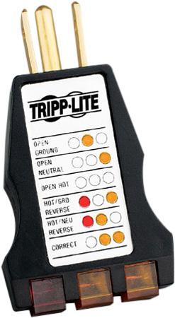Tripp Lite CT120 Three Wire Circuit Analyzer
