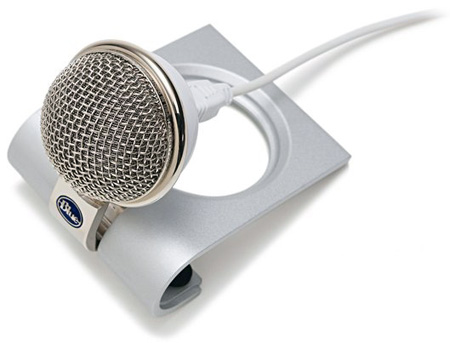 Blue Snowflake Portable USB Microphone