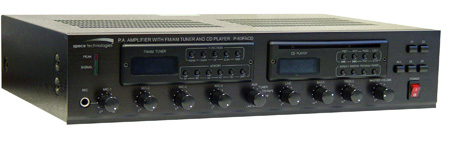 60 Watt PA with AM/FM and CD Player