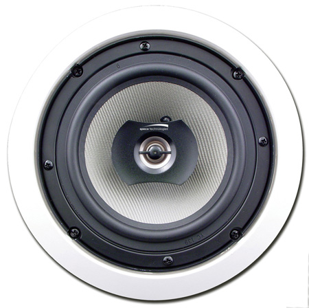 Speco SPCBC6 6.5In. Compression Molded PP Cone In-Ceiling Speaker Pair