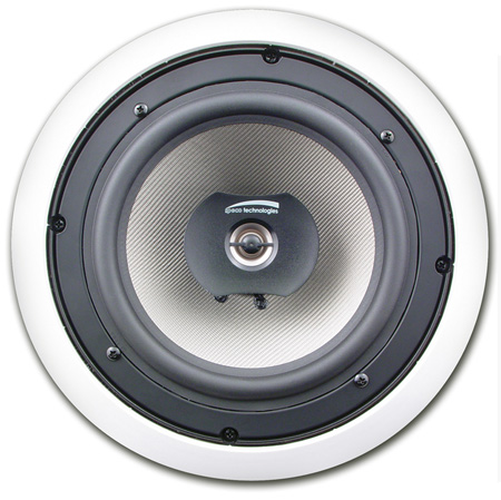 Speco SPCBC8 8 Inch Custom Builder In-Ceiling Speaker - Priced Per Pair