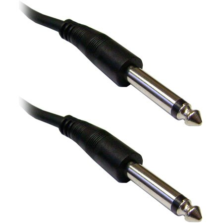 SuperSaver Series 1/4-Inch Male to Male Unbalanced Audio Cable 50 Foot