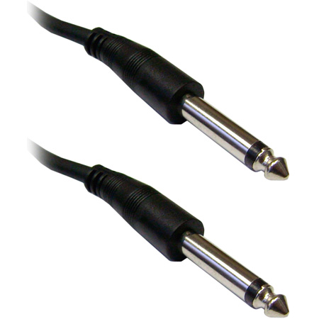 SuperSaver Series 1/4-Inch Male to Male Unbalanced Audio Cable 6 Foot