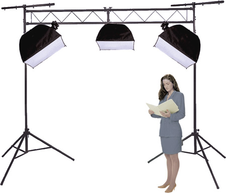 Deluxe Portable 3 Light System