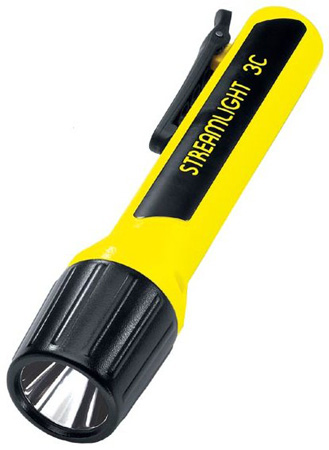 Streamlight Yellow 3C LED Flashlight