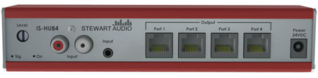 Stewart Audio IS-Hub4 IntraSound 4-Port Hub
