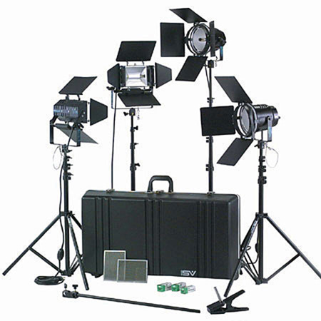 K76 4000 Watt Professional Studio Kit