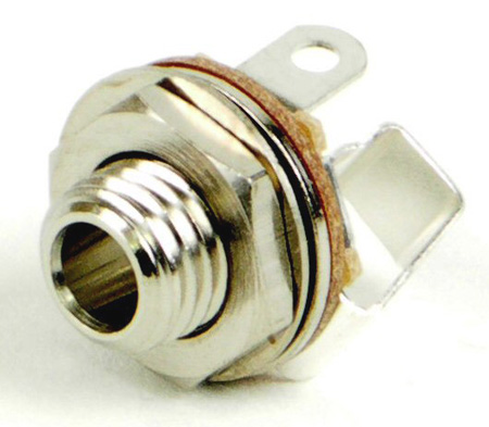 Switchcraft 35PM1 3.5MM (1/8 Inch MINI) Single Mono Jack Open Circuit