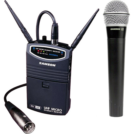 Samson SW87SHQ7-N2 UM1 Portable Handheld Wireless Microphone System
